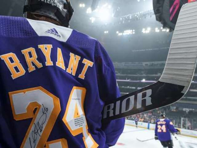 Kobe Bryant: LA Kings Unveil Lakers-Themed Jerseys