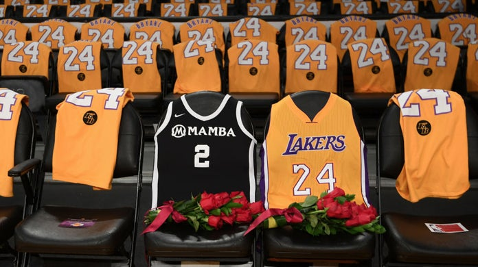 lakers-kobe-bryant-staples-center-first-game