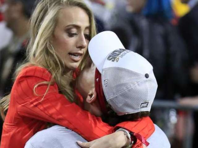Patrick Mahomes' Girlfriend Brittany Matthews 'Beyond Proud' of Him, Reveals Disney World Photos