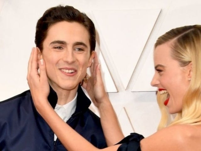 Oscars 2020: Margot Robbie Gets Photobombed by Timothee Chalamet on Red Carpet
