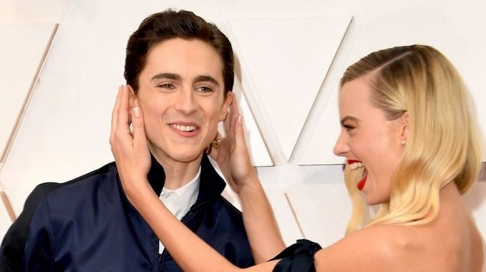 margot robbie timothee chalamet