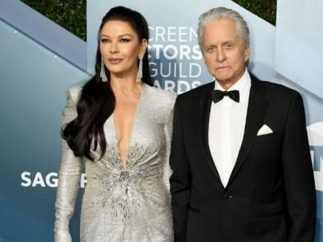 Michael Douglas and Catherine Zeta-Jones Attend Kirk Douglas' Funeral With Family