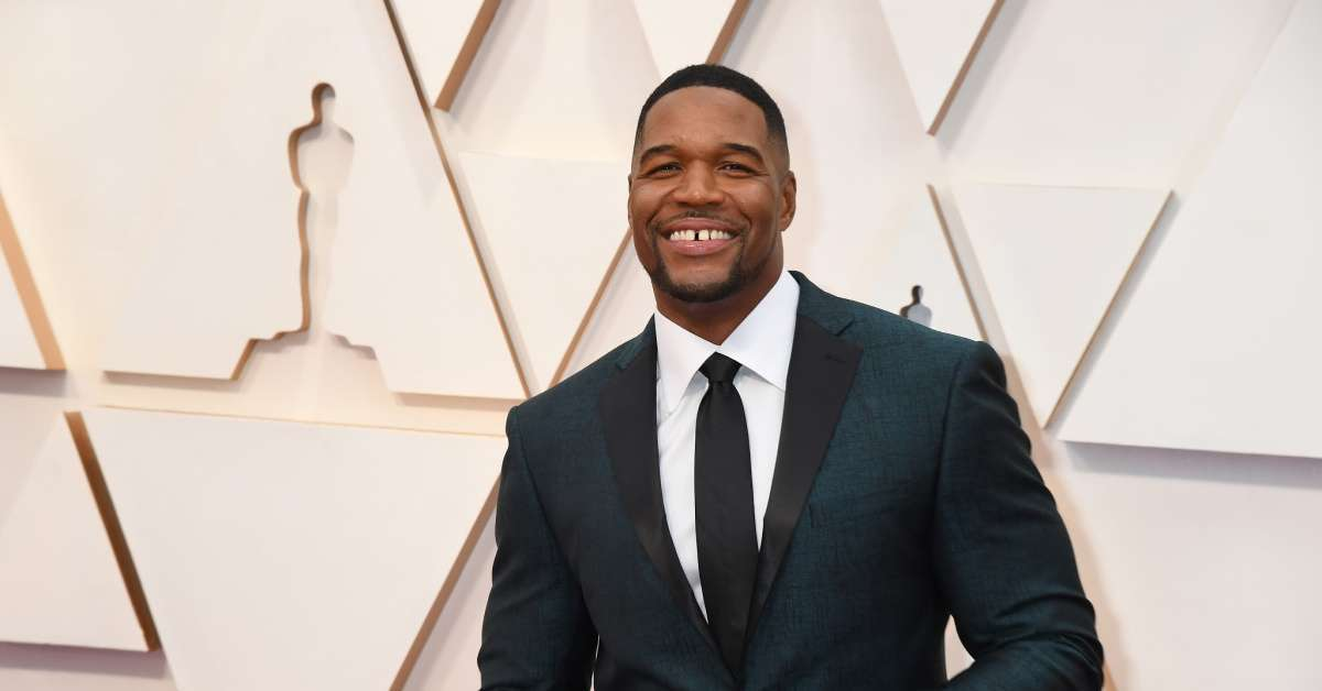 Michael Strahan NFL shape side-by-side photo