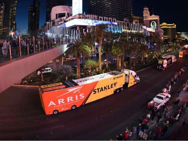 NASCAR Hauler Parade in Las Vegas Canceled Following Daytona 500 Postponement
