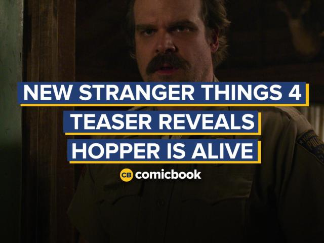 New Stranger Things 4 Teaser Reveals Hopper is Alive in Russia