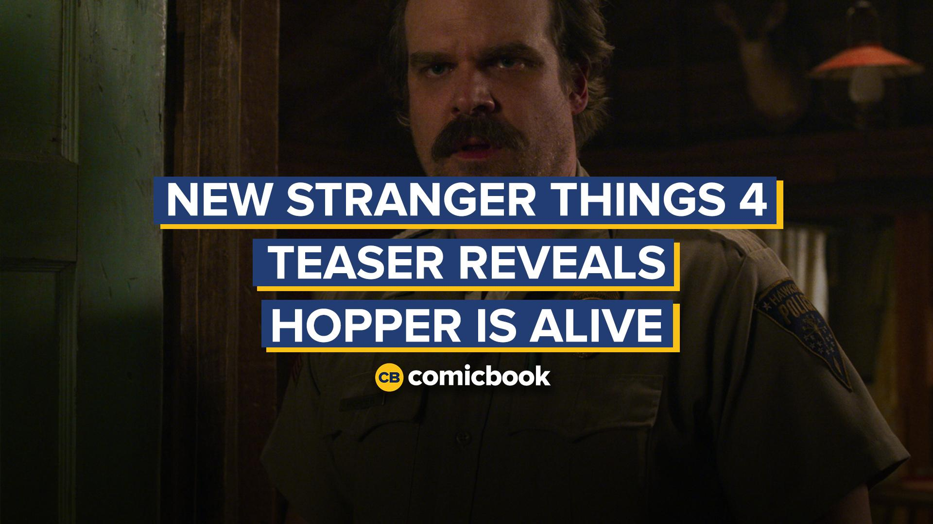 New Stranger Things 4 Teaser Reveals Hopper is Alive in Russia screen capture