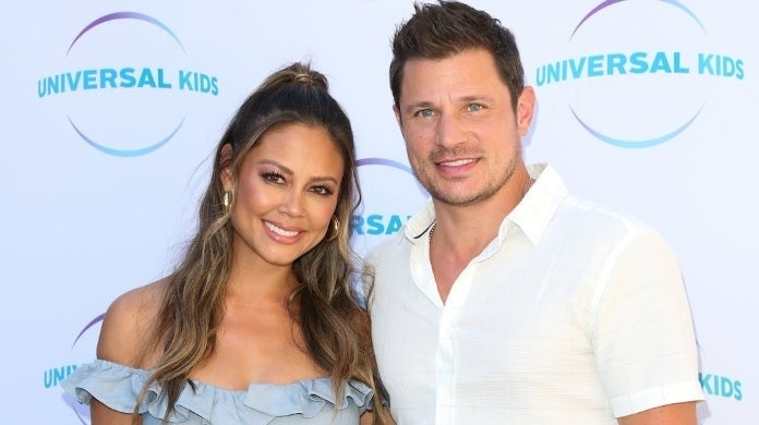 nick vanessa lachey getty images
