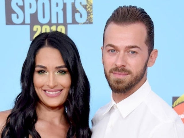 Nikki Bella 'Flips the Switch' With Fiance Artem Chigvintsev in Baby Bump TikTok Video
