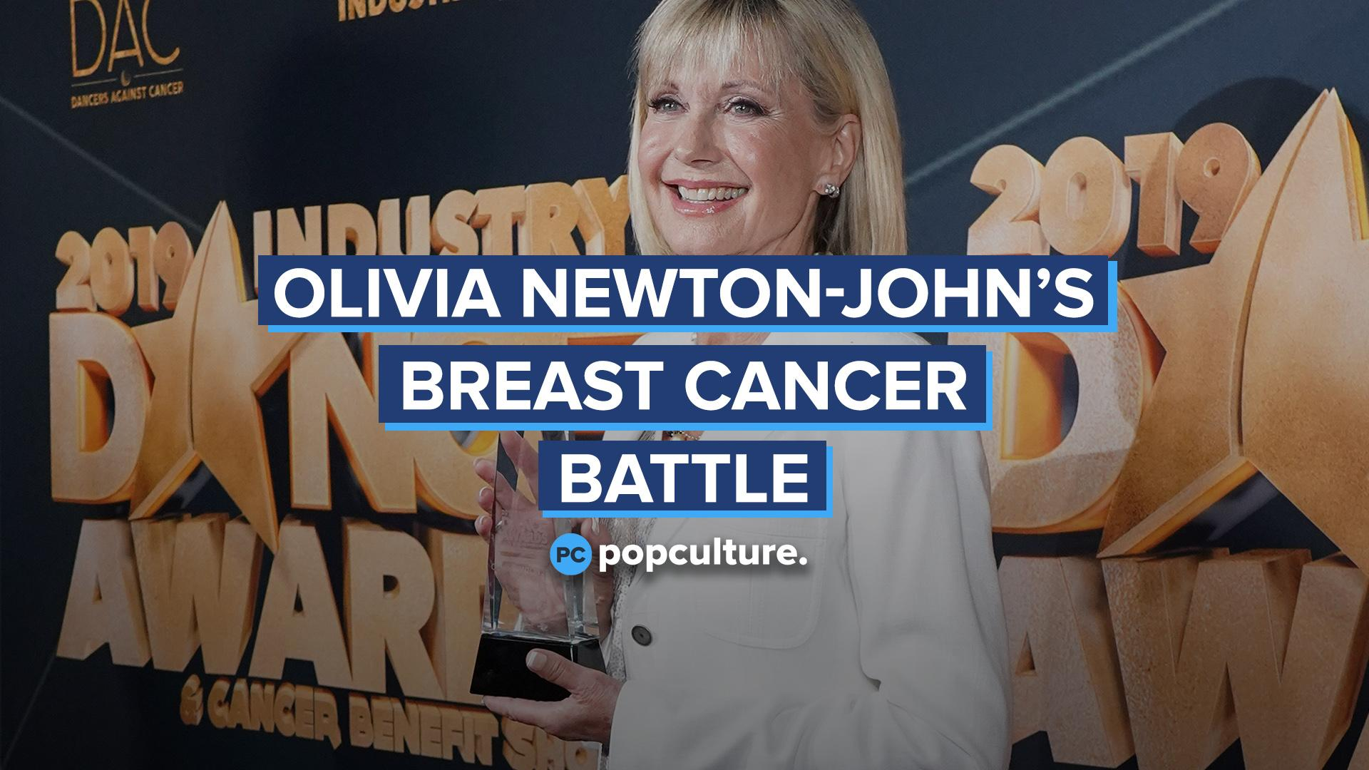 Olivia Newton-John's Breast Cancer Battle screen capture