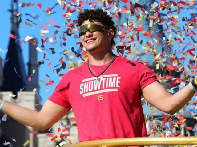 Patrick Mahomes Receives Custom Chiefs WWE Championship for Victory Parade