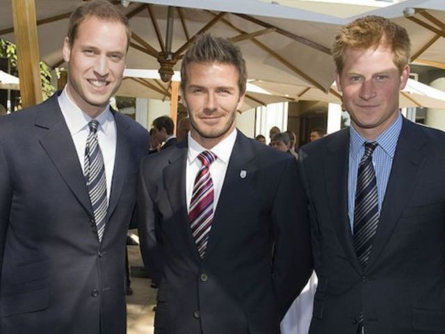 David Beckham Says He's 'Proud' of 'Amazing Person' Prince Harry Amid Royal Exit