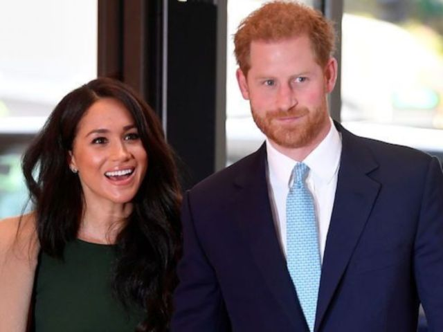 Prince Harry and Meghan Markle Officially Step Down From Royal Duties