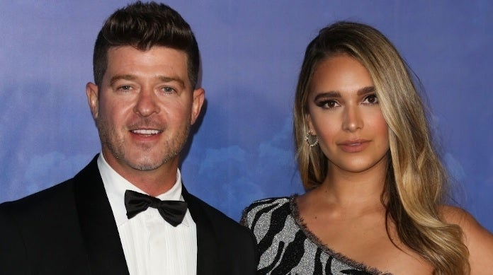 robin thicke april love geary getty images