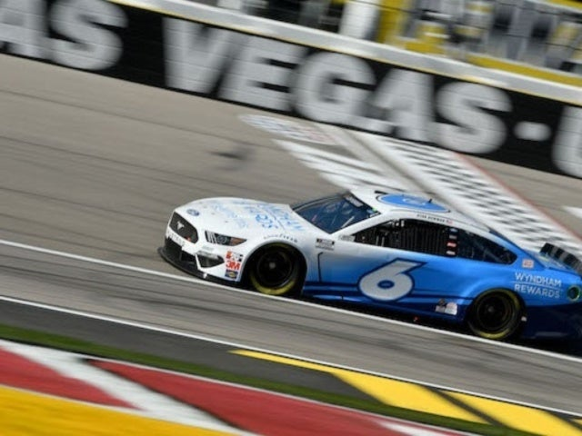 Ryan Newman: Watch Ross Chastain Head out for First Laps in No. 6 Car as NASCAR Hits Las Vegas