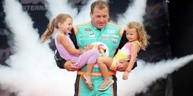 Ryan Newman Photo With His Daughters Goes Viral as Fans Pray for His Safety