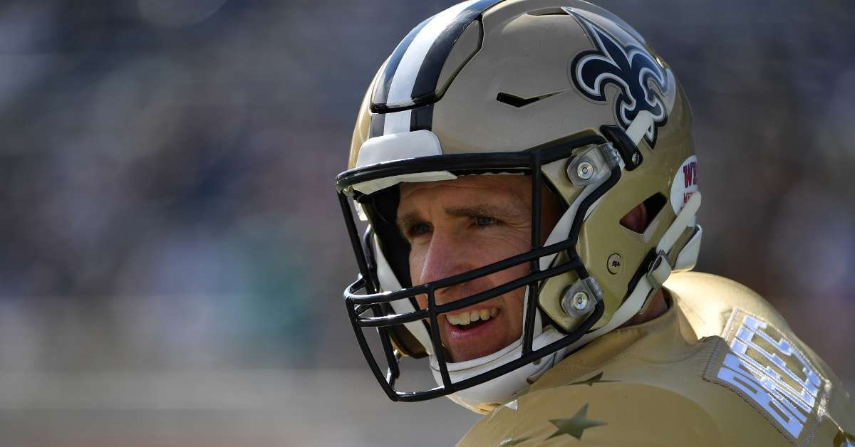 Saints Drew Brees sign before free agency
