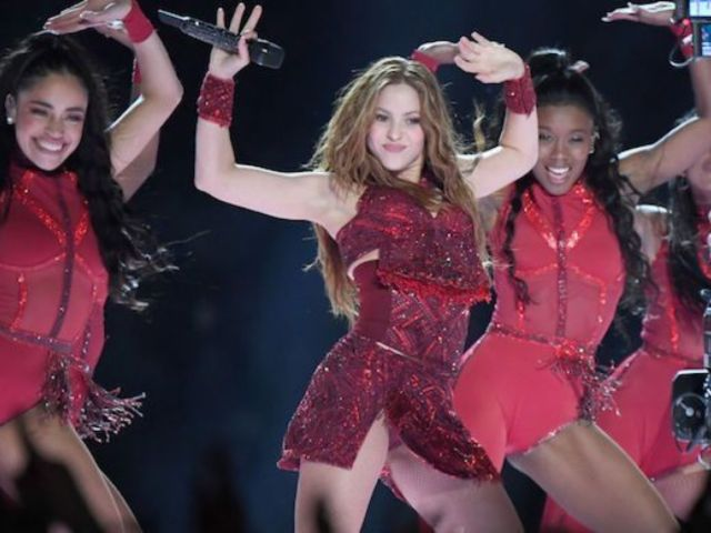Shakira Reveals Epic 'She Wolf' Photo From Super Bowl Halftime Show