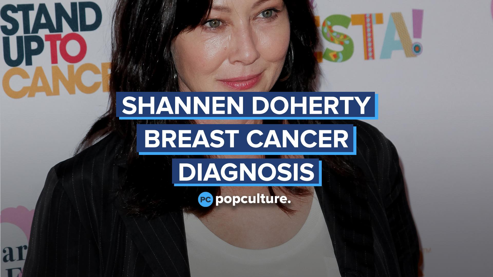 Shannen Doherty Reveals Stage 4 Breast Cancer Diagnosis screen capture