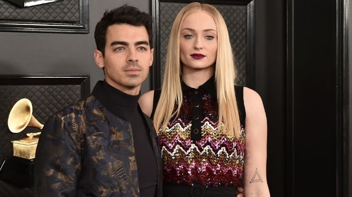sophie turner joe jonas getty images grammys
