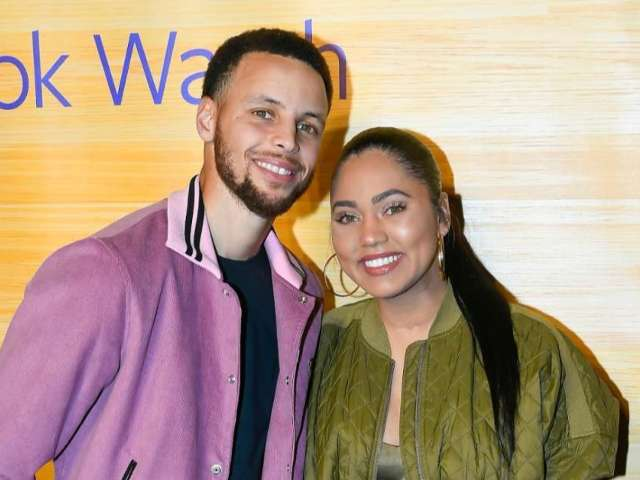 Stephen Curry Reveals Saucy Snap of Wife Ayesha Licking His Forehead in a Bikini While Straddling Him