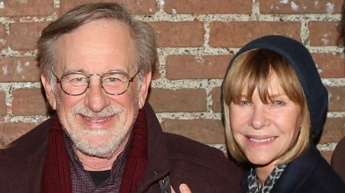 Steven Spielberg and Kate Capshaw getty images