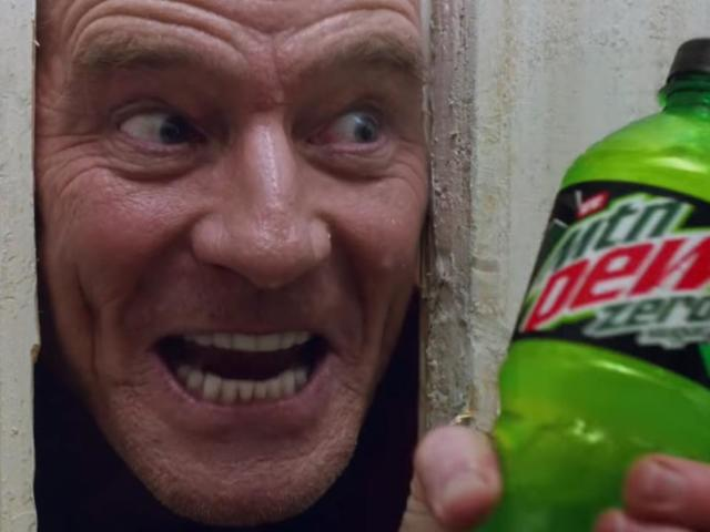 Super Bowl 2020: Bryan Cranston Remakes 'The Shining' With Tracee Ellis Ross in Epic Mountain Dew Commercial
