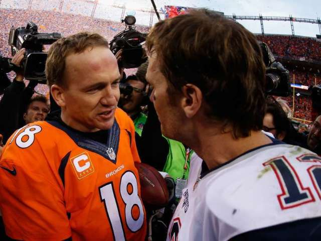 Super Bowl 2020: Tom Brady and Peyton Manning Take 'GOAT' Selfie, and Fans Are Going Wild