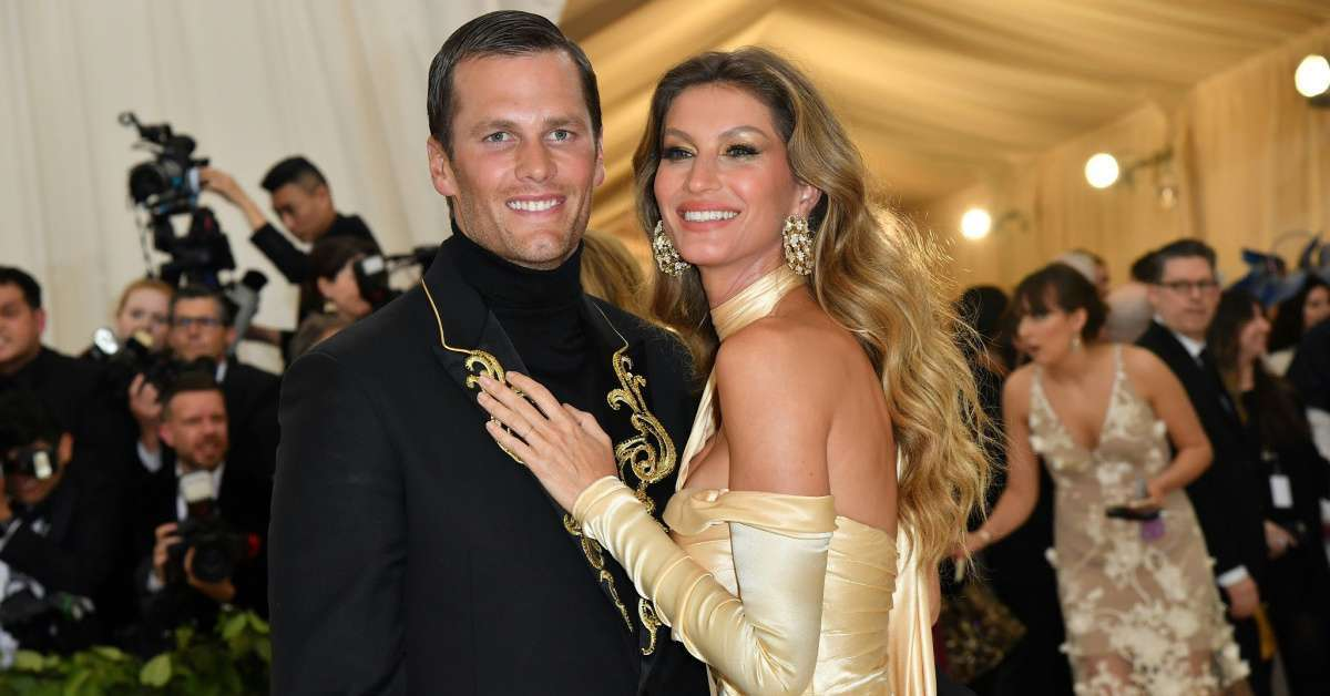 Tom Brady Gisele Bundchen Valentines Day selfies