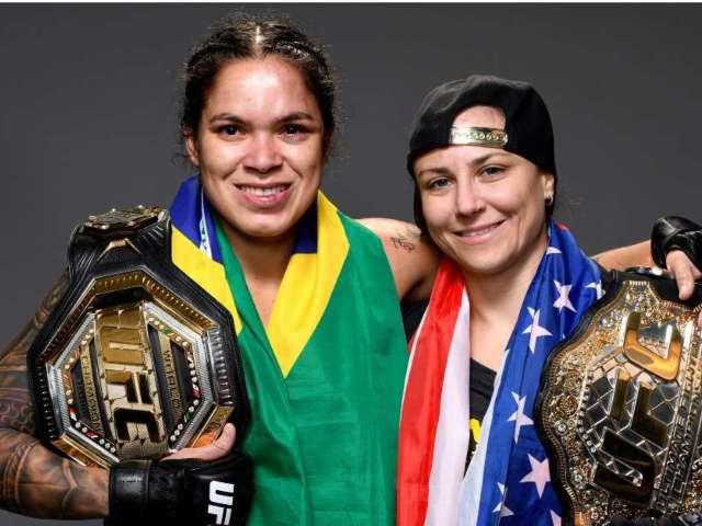 UFC Champion Amanda Nunes Expecting First Child With Partner Nina Ansaroff in September