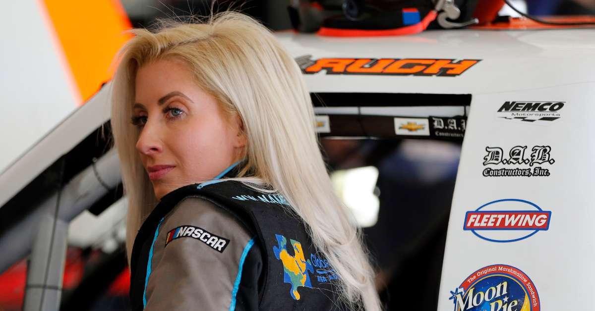 Angela Ruch Ryan Newman NASCAR Daytona 500 crash brought tears my eyes