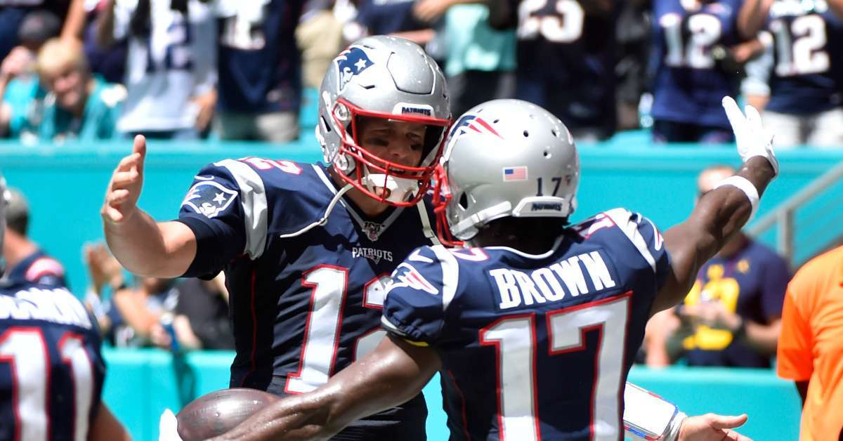 Antonio Brown Tom Brady Tampa Bay Buccaneers wants to join