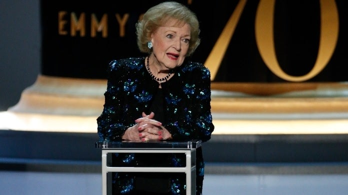 betty white 2018 getty images