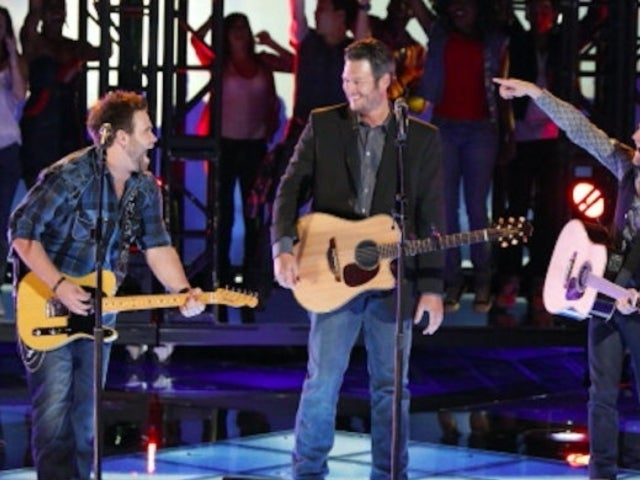 Blake Shelton Records Song by Swon Brothers, Duo Thanks Carrie Underwood and Gwen Stefani (Exclusive)