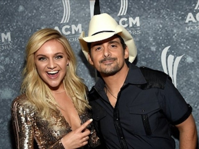 Watch Brad Paisley Try to Play the Guitar Solo in Kelsea Ballerini's 'Hole in the Bottle'