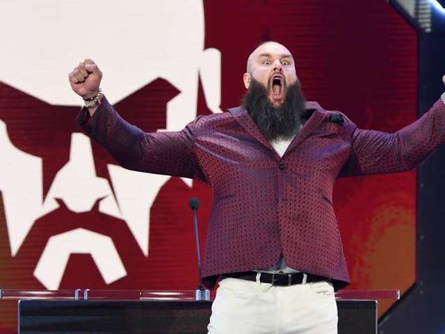 WWE's Braun Strowman Literally 'Shotguns' a Beer by Shooting It out of a Can Cannon