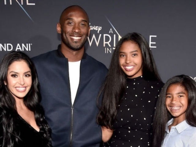 Kobe Bryant: Vanessa's Profile Photo With Daughters in Front of Memorial Mural Sparks Spirited Response From Fans
