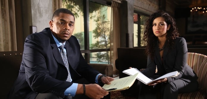 Chris Anderson and Fatima Silva from Reasonable Doubt