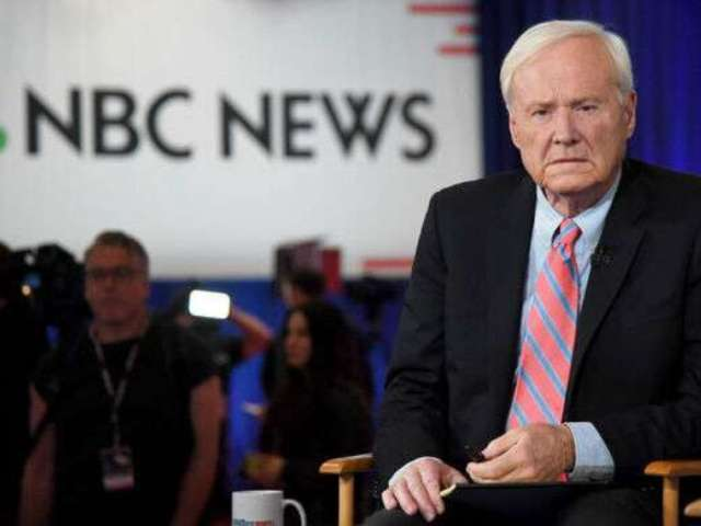 Chris Matthews Suddenly Retires On-Air and Social Media Has Thoughts