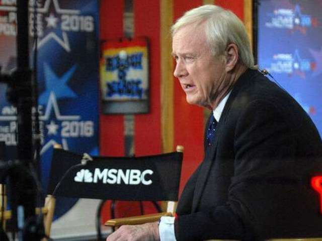 Chris Matthews' On-Air Retirement Apparently Took Colleagues by Surprise as They Scrambled to Continue Show