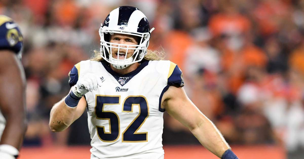 Clay Matthews Los Angeles Rams release