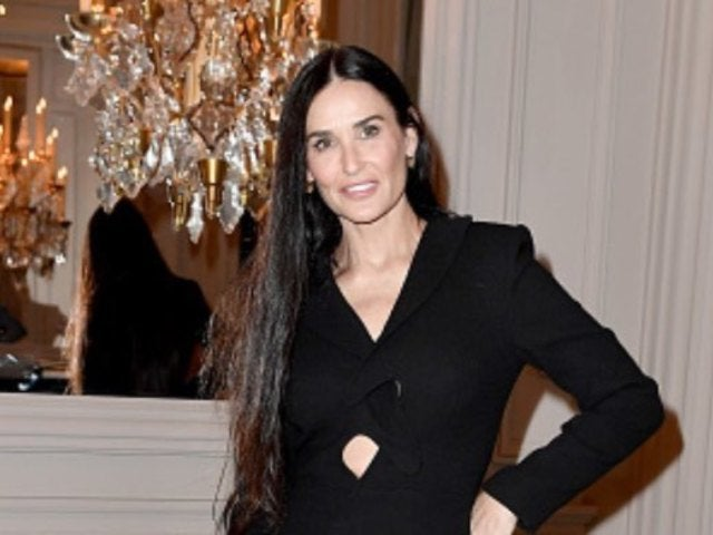 Demi Moore Poses With a Dog on Her Head in Bizarre Coronavirus Quarantine Selfie