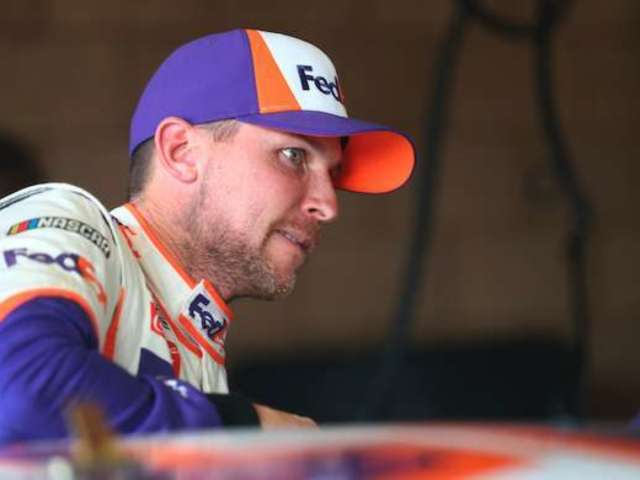 Denny Hamlin Jokes About Bumping Kyle Larson, and NASCAR Owner Chip Ganassi Is Fuming