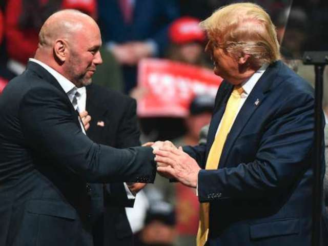 Donald Trump Praises UFC's Dana White as 'the Real Deal'