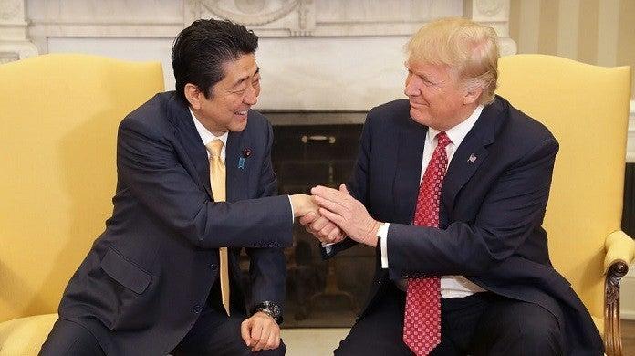 donald-trump-shinzo-abe-getty