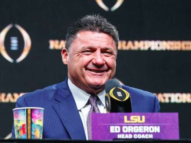 LSU Coach Ed Orgeron Delivers Coronavirus PSA Fans Need to Hear