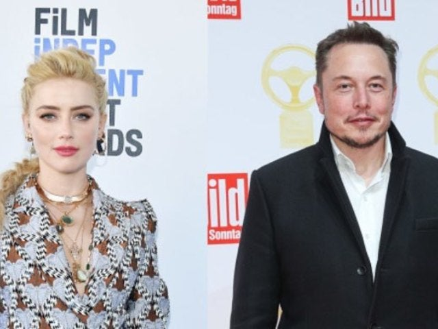 Amber Heard and Elon Musk Caught Snuggling up to Each Other in Video From Johnny Depp's Penthouse Elevator