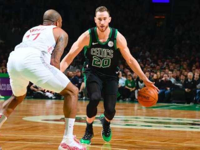 Boston Celtics Star Gordon Hayward Reveals Family Expecting Fourth Child, a Baby Boy