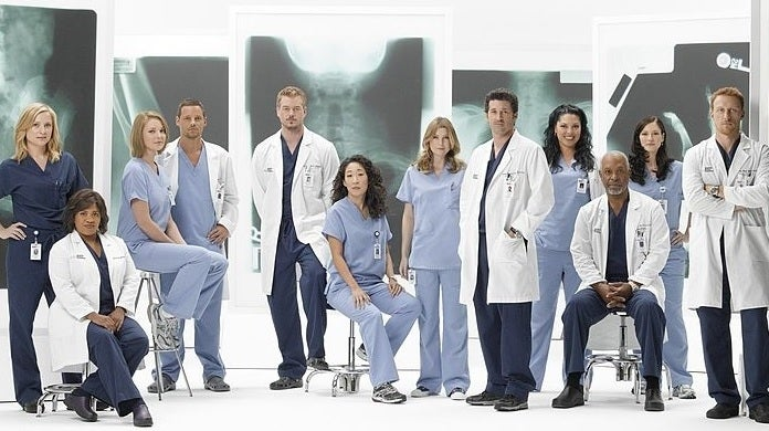 grey's anatomy past cast abc getty