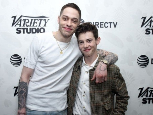 Griffin Gluck Jokes 'Big Time Adolescence' Script Is 'Coming to Life' Through Friendship With Pete Davidson (Exclusive)