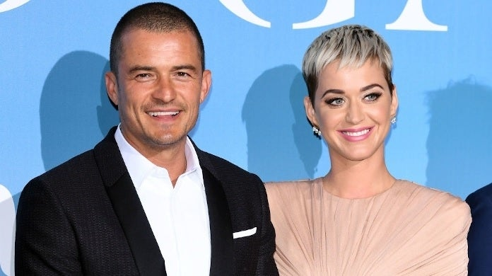 katy perry orlando bloom 2018 getty images